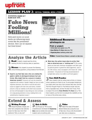 fake news fooling millions quiz answers Fake News Fooling Millions!
