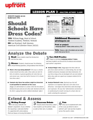 why schools should get rid of strict dress codes Educators' dress code study shows days is whether or not to have dress codes challenges to the implementation of dress codes, schools in texas enjoy fairly.