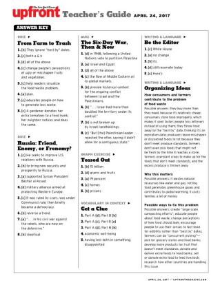 up front worksheet answer key kidz activities. Black Bedroom Furniture Sets. Home Design Ideas