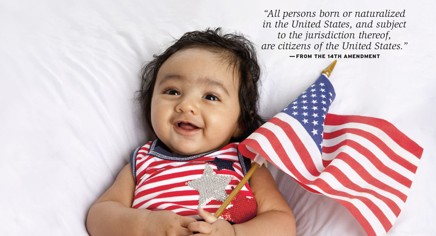 """illegal aliens and birthright citizenship Evidence of the targeting of us citizen children of immigrants is subtle but  growing  given the president's stated opposition to birthright citizenship, his  use of  to federal detention are simply aimed at """"illegal"""" immigration."""