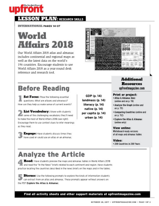 Lesson World Affairs 2018