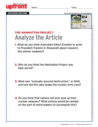 manhattan project essay questions Essays, term papers, book reports, research papers on american history free papers and essays on manhattan project we provide free model essays on american history, manhattan project reports, and term paper samples related to manhattan project.