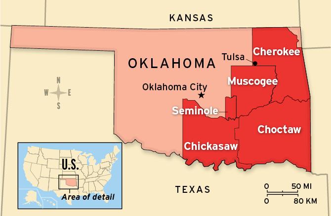 Who Owns Oklahoma?