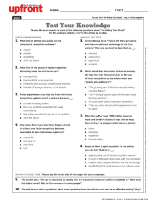 image regarding Current Events Worksheet Printable called The Clean York Moments Upfront Present-day Occasions for Grades 9-12